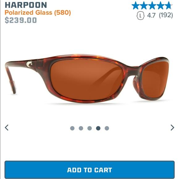 a5ed096726 Costa Accessories - Costa harpoon HR10 sunglasses used